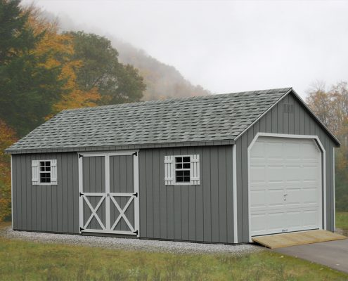 Backyard Garages by Alger Sheds