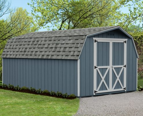 Backyard Mini Barn - Alger Sheds