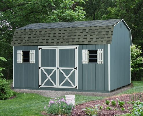 Dutch Backyard Shed