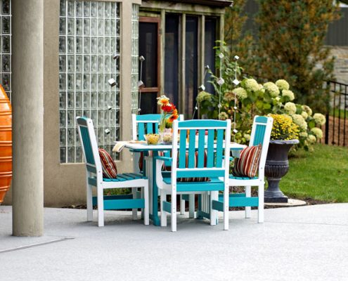 Alger Sheds - English Garden Set - Turquoise