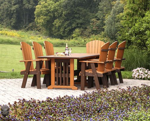 Poly Furniture - English Garden Table Set - Alger Sheds