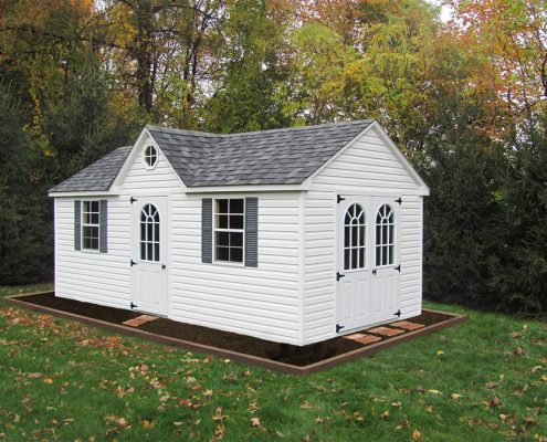 Backyard Storage Shed: Custom A-Frame