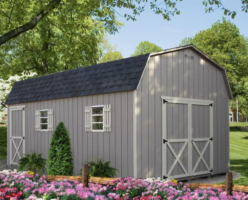 Backyard Shed - Dutch Style