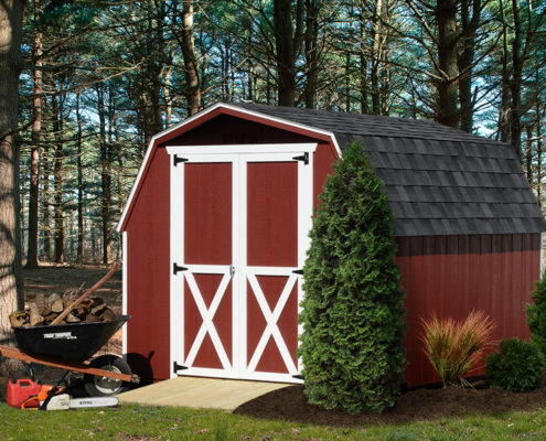 Backyard Storage Shed: Mini-Barn