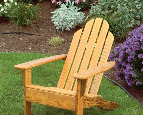 Wood Kennebunkport chair - Alger Sheds