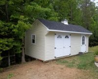 Quaker Shed - Custom Site Work