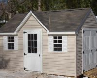 Cape Cod Shed + Dormer