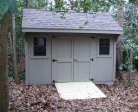 Quaker Shed - Double Doors