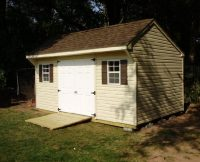 Quaker Shed with Ramp