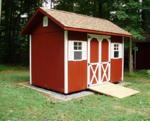 Red Gable Shed