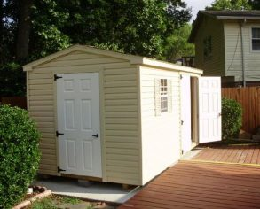 Gable Shed with Custom Doors