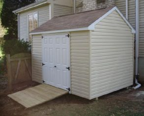 Beige Gable Shed