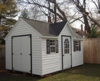 Cape Cod Shed with Dormer