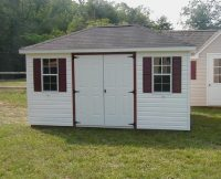 Custom Hip Roof Shed