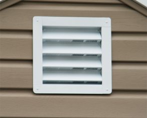 Vents - Custom Shed Option