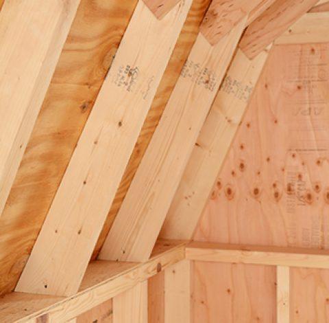 Custom Roof Options - Alger Sheds