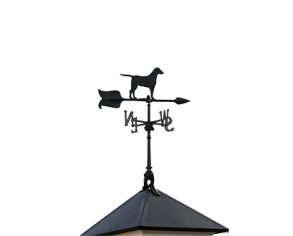Dog Weathervane - Custom Shed Option