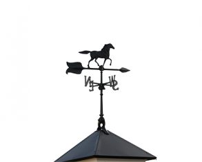 Horse Weathervane - Custom Shed Option