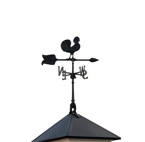 Rooster Weathervane - Custom Shed Option