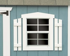 Fancy Trim - Custom Shutter Option